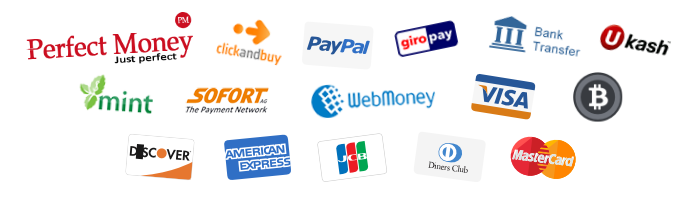 Payment providers for our VPN service