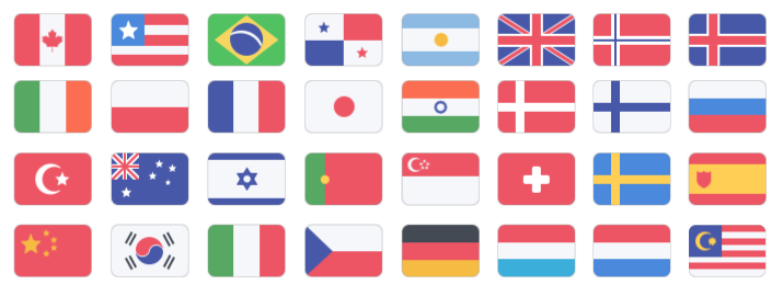VPN Servers in over 30 countries